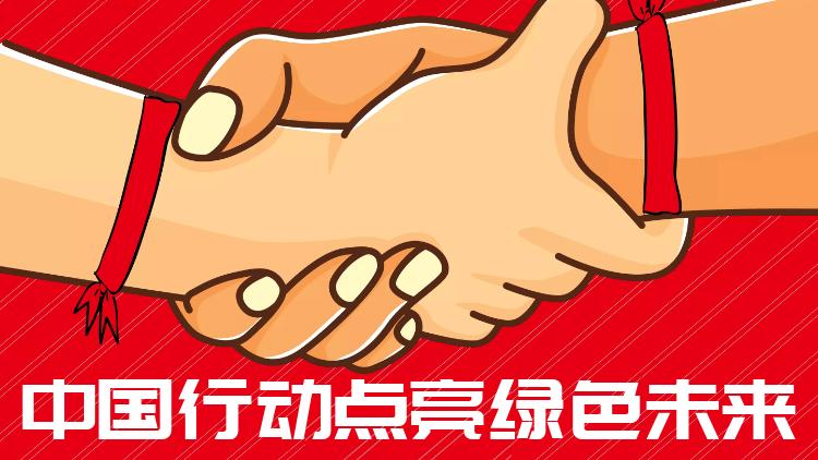 """热点:中国行动点亮""""绿色未来"""""""